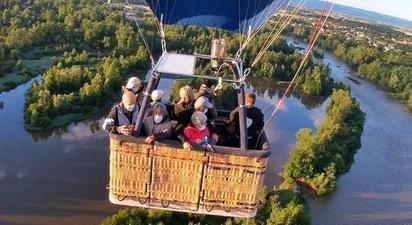Vol en montgolfière en Rhône-Alpes près de Saint Etienne