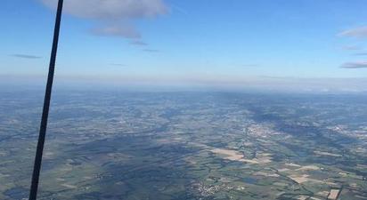 Vol en montgolfière en Auvergne près du Puy-en-Velay