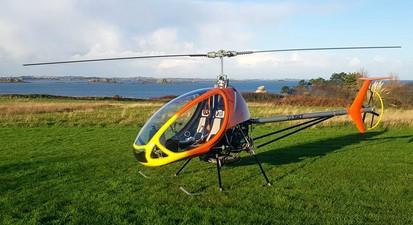 Baptême en Hélicoptère ULM à Morlaix