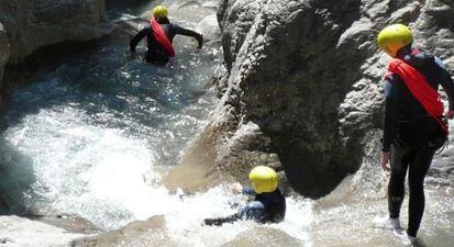 Canyoning près de Barcelonnette - Canyon de Costeplane, La Blache ou Chaudan