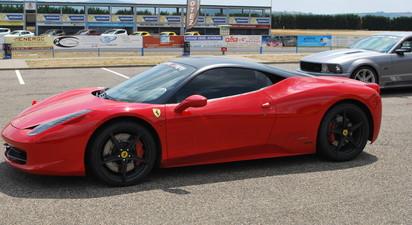 Stage de Pilotage en Ferrari 458 Italia - Circuit Dijon Prenois
