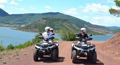 Randonnée en quad à Lacoste dans l'Hérault