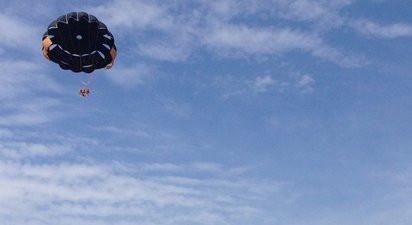 Vol en parachute ascensionnel et Paddle au Cros-de-Cagnes