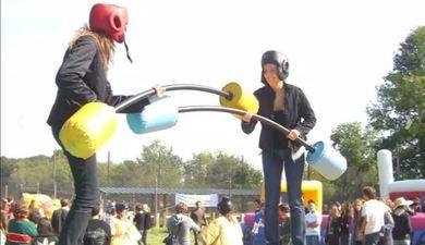 Pack Multi-activités à Hénonville près de Beauvais : Sumo, lancer de Haches, Babyfoot, Bubble Football, Joutes de gladiateurs