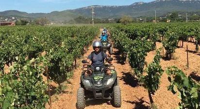 Randonnée en quad près de Toulon