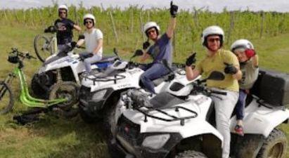 Randonnée en quad près de Bergerac