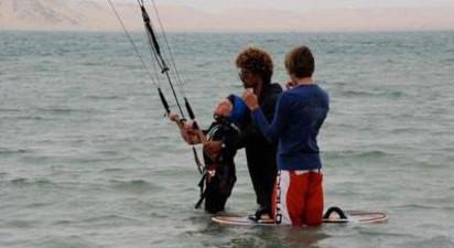 Séjour kitesurf au bord du lagon de Dakhla, Maroc