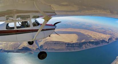 Initiation au pilotage d'avion près de Toulon
