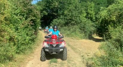 Randonnée en quad près de Coulommiers