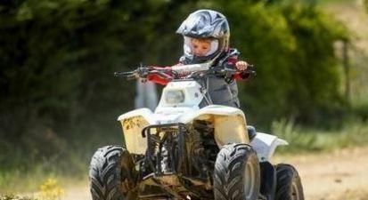 Initiation quad spécial enfant près de Coulommiers