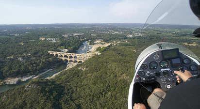 Vol en ULM autogire à Nîmes