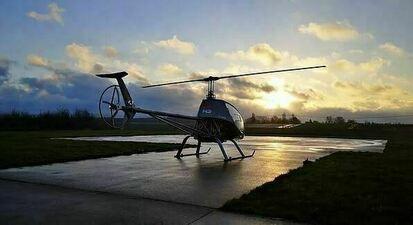 Baptême en Hélicoptère à Rodez