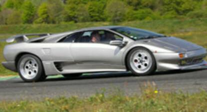 Stage de pilotage Lamborghini Diablo - circuit de Château Gaillard