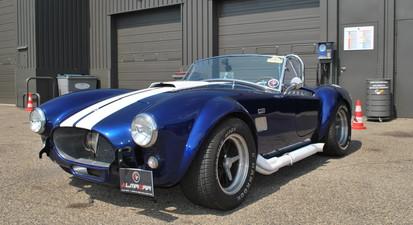Stage de pilotage Shelby AC Cobra - circuit de Château Gaillard