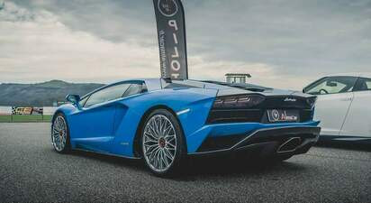 Stage de pilotage Lamborghini Aventador S - circuit de château Gaillard