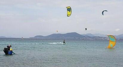 Stage de kitesurf à Hyères
