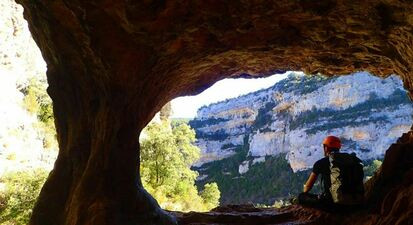Descente du Canyon Sec de Basender en Espagne