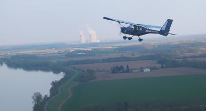 Vol découverte ou Initiation au pilotage d'avion près d'Orléans