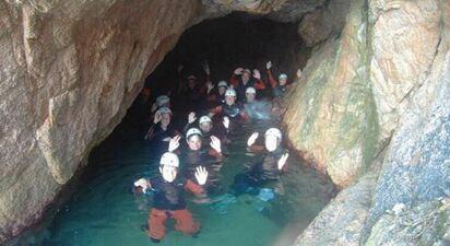 Canyoning en Costa Brava (Espagne)
