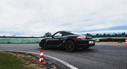 Stage multi-volants en Porsche Cayman S ou Lotus + Audi R8 + Ferrari 360 Modena – Circuit d'Andrézieux