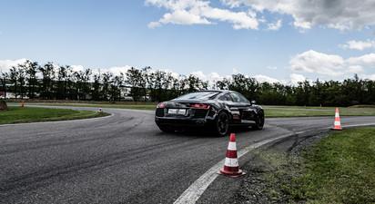 Stage multi-volants en Porsche + Lotus + Audi R8 + Ferrari – circuit d'Andrézieux