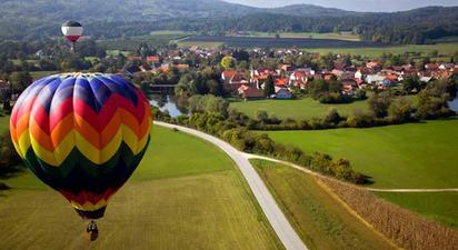 Vol en Montgolfière au Brabant Wallon en Belgique