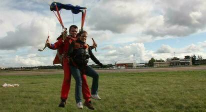 Saut en Parachute tandem à Dieppe