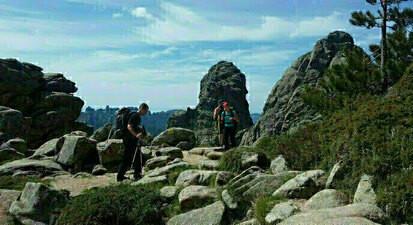 Randonnée de 4 jours en Corse sur le plateau du Cuscionu