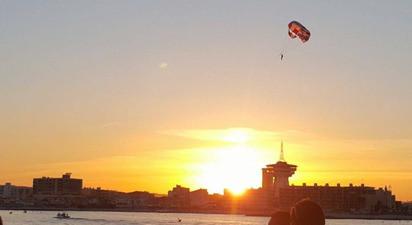 Vol en Parachute Ascensionnel à Palavas-les-Flots