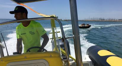 Bouée tractée à Palavas-les-Flots près de Montpellier