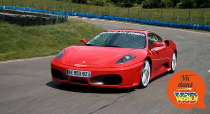 stage de pilotage en ferrari f430 pr s de paris. Black Bedroom Furniture Sets. Home Design Ideas