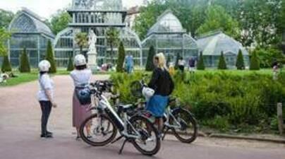 Balde en vélo électrique à Lyon