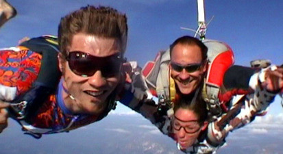 Saut en Parachute Tandem en Suisse Romande