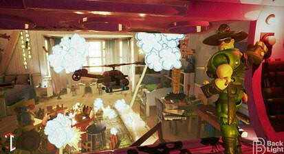 Laser game immersif en salle à Marseille