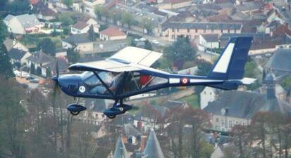 Initiation au pilotage d'avion ultra léger près d'Orléans