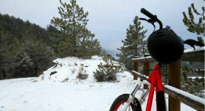 Randonnée sur la neige en Quadbike à la Joue du Loup