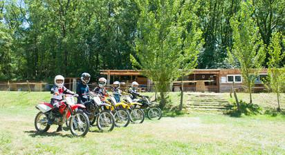 Initiation au pilotage d'une motocross à Auch