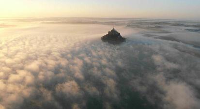 Baptême de l'air en avion léger à Bréville avec vue sur le Mont Saint Michel