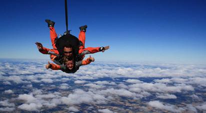 Saut en Parachute proche de Toulouse