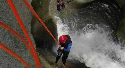 Descente du Canyon de Llech Estoher près de Perpignan