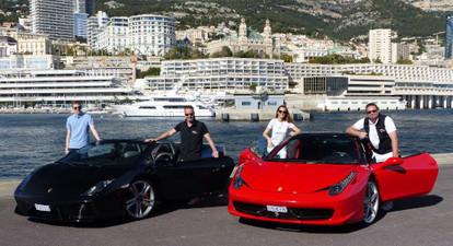 Stage de Pilotage sur Route en Ferrari F458 ou Lamborghini Gallardo 560 à Nice et Monaco