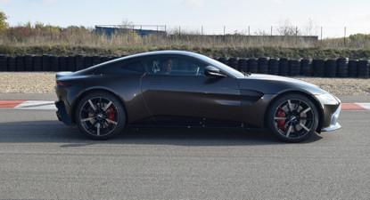 Stage de Pilotage en Aston Martin V8 - Circuit de Pont l'Évêque