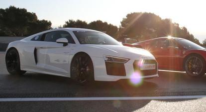 Stage de pilotage en Audi R8 V10 - Circuit Mireval