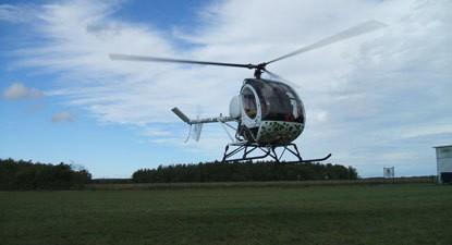 Initiation au pilotage d'hélicoptère près d'Orléans