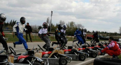Session de Karting à Carcassonne