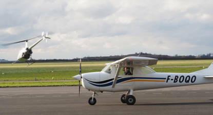 Initiation au Pilotage d'Avion à Versailles