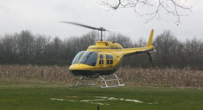 Baptême pour 2 ou 4 en Hélicoptère - Vol dans le Loiret près d'Orléans
