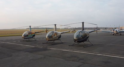 Baptême en hélicoptère - vol au dessus de la Vallée de Chevreuse