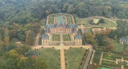 Vol en Hélicoptère au Château de Versailles