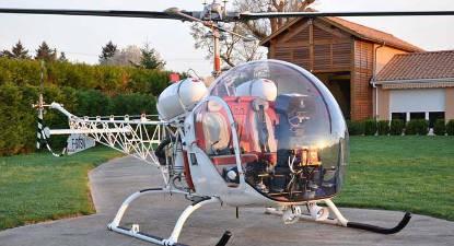 Initiation pilotage d'hélicoptère Libourne